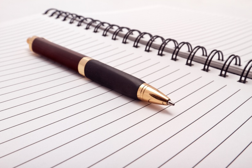 Pen with Journal